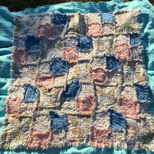 Quilted Winnie The Pooh Rag Pattern